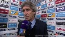 Manchester City 1 3 Leicester Manuel Pellegrini Post Match Interview