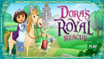 Dora The Explorer - Doras Royal Rescue Game - Videos Games for Babies & Kids to Watch 2014 [HD]