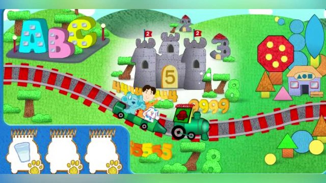 Blues Clues - Blues Golden Clues Game - Blues Clues Game