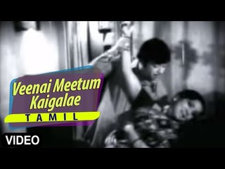 """Veenai Meetum Kaigalae"" Tamil Song | Vaazha Ninaithaal Vaazhalaam | Jaishankar, Sripriya"