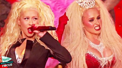 Hayden Panettiere and Christina Aguilera Do 'Lady Marmalade' on Lip Sync Battle