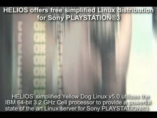 HELIOS offers simplified Linux For PS3