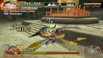 Naruto Uzumaki Chronicles 2 Walkthrough Part 11 Giant Bee Puppet Boss Battle 60 FPS