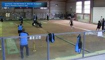 Tir progressif, troisième tour, Club Elite Féminin, J9, Nyons vs Digoin, Sport Boules, saison 2015-2016