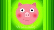 Un petit cochon pendu au plafond. ♫ Comptines maternelles et Chansons pour bébé en français