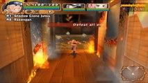 Naruto Uzumaki Chronicles 2 Walkthrough Part 2 Save the Burning Village 60 FPS