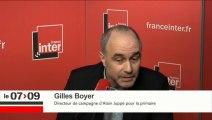 Gilles Boyer répond aux questions de Léa Salamé