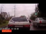 New Crazy Russian Guy with the Gun 2013 Road Rage in Russia. Watch only in Russia 2013