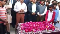A tribute to the martyrs of Bacha Khan University by Sindh University Laar Campus,Badin