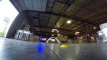 Course de Drone impressionnante - Accidents, vitesse, virages impressionnants
