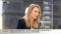 Marion Maréchal le Pen donne raison à sa tante Marine Le Pen sur son tweet