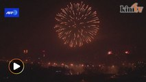 Beijing rings in the year of the monkey with fireworks