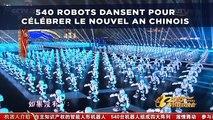 Une armée de 540 robots danse pour célébrer le Nouvel an chinois