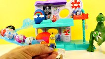 18 Surprise Eggs Play Doh Thomas Train Spiderman Dora Disney Cars Planes Hello Kitty Kinder Egg Toys