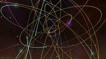 Stars Orbiting Around a Black Hole