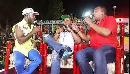 Interview de Roro Nelson sur le Stand de la RTvC - Bregard Anderson - Junior Rigolo