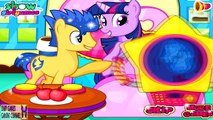 MLP Twilight Sparkle and Flash Sentry Having Twin Babies - My Little Pony Friendship is Magic Games
