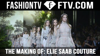 The Making Of Elie Saab Couture Dress | FTV.com