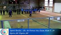 L'Express, le résumé du match, Club Elite Féminin, J9, Nyons vs Digoin, Sport Boules, saison 2015-2016