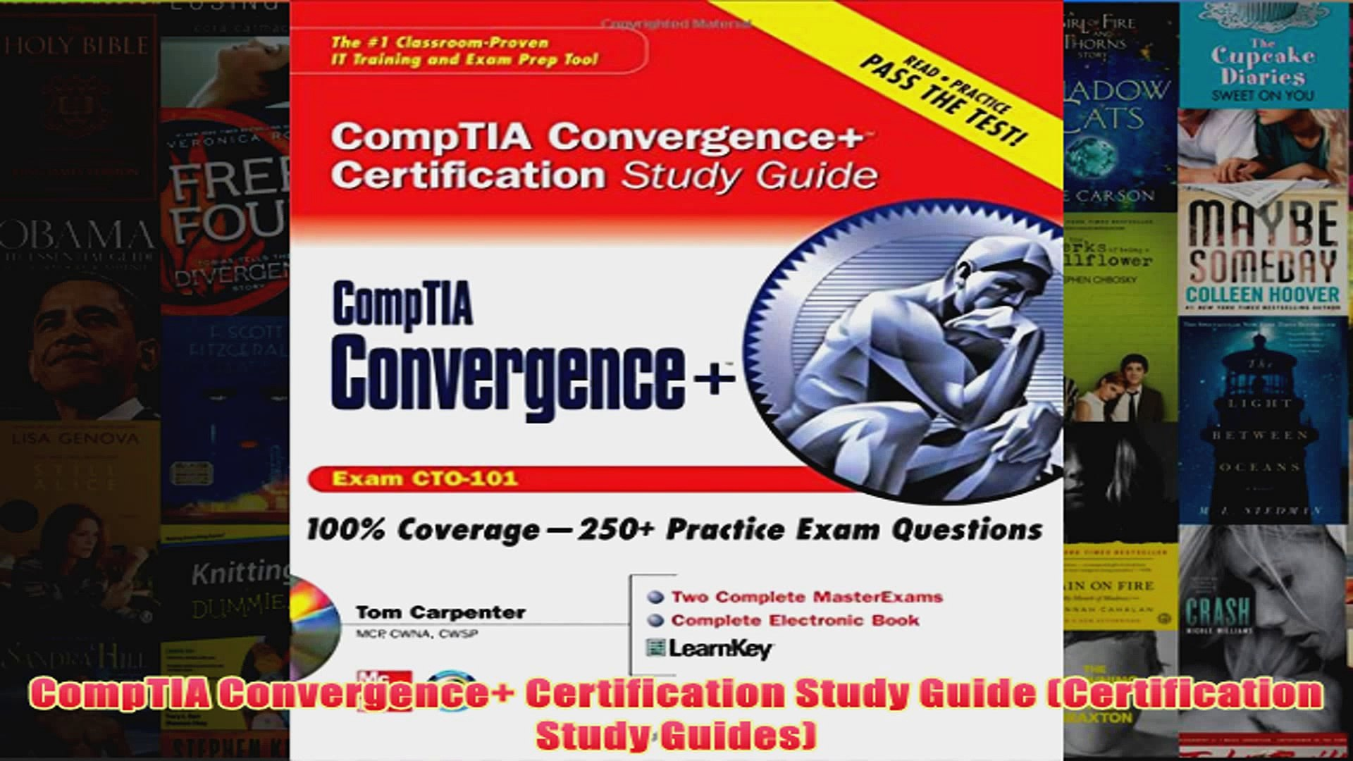 Download PDF CompTIA Convergence Certification Study Guide Certification  Study Guides FULL FREE