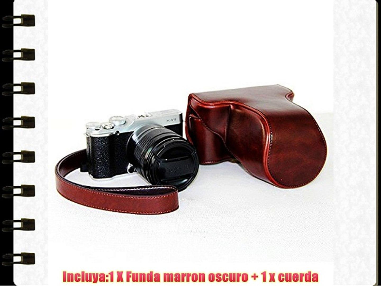 First2savvv XJPT-XM1-10G14 Funda Cámara cuero de la PU cámara digital bolsa caso cubierta con