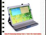 Coodio® Samsung Galaxy Tab 3 10.1-Inch funda de cuero modo de suspensión con soporte integrado
