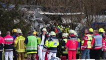 Emergency Crews Airlift Victims From Germany Train Collision