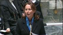 Energies renouvelables : S. Royal répond à une question au Gouvernement