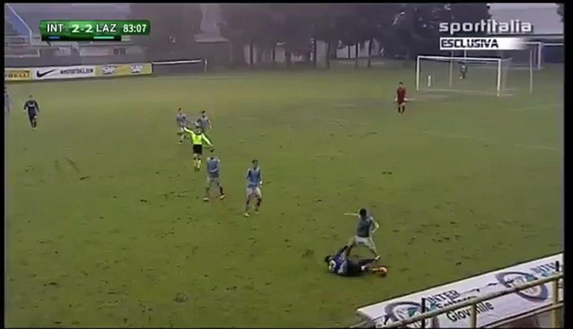 Primavera, Inter-Lazio - Rissa a bordo campo