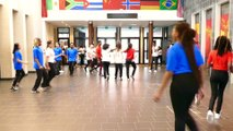 flashmob euro 16 lycée René Auffray