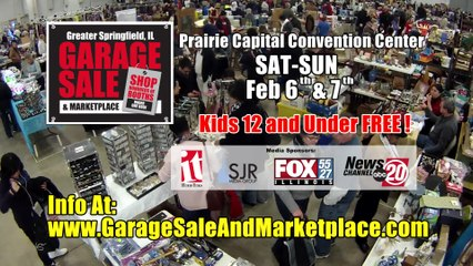 The Return of the Greater Springfield Garage Sale 2016