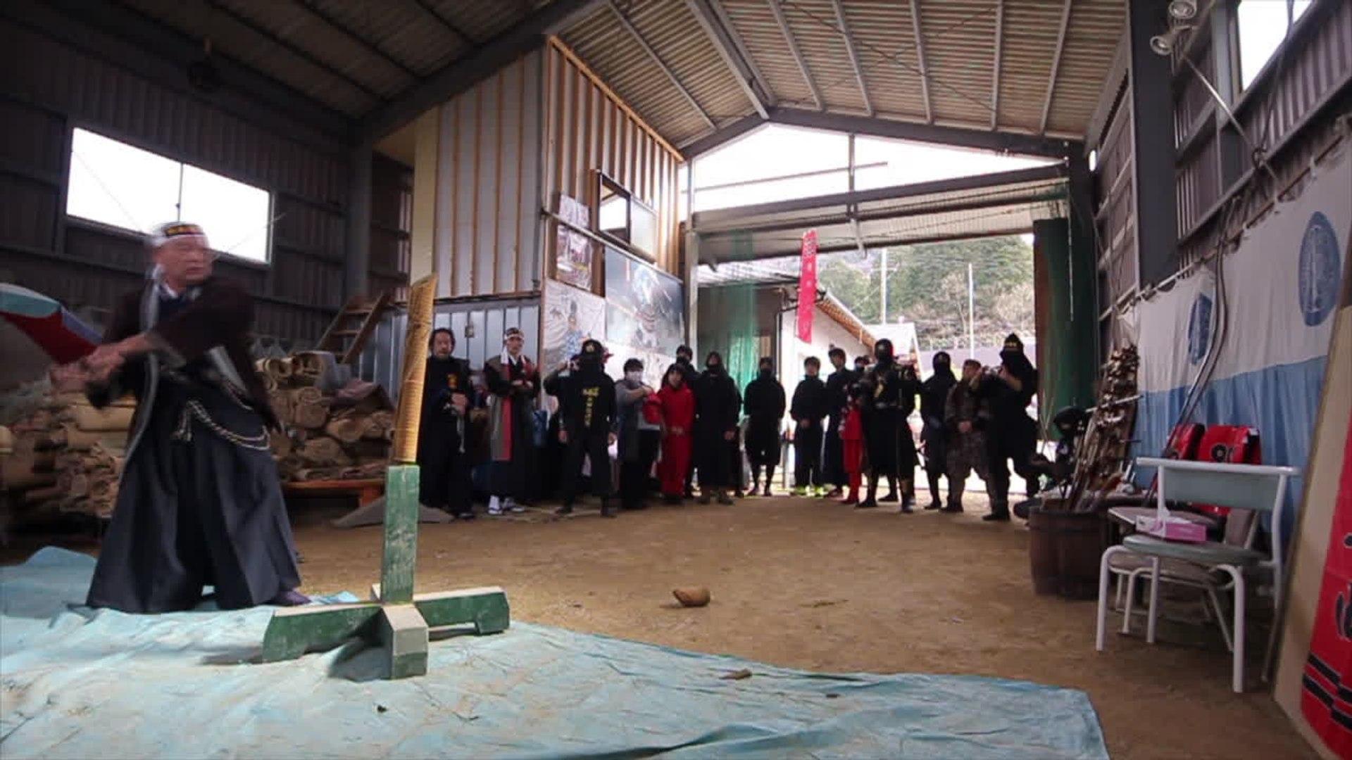 The Ancient Ninja Arts Survive at the Yagu Ninjitsu Academy Dojo