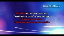 Charlie Puth - One Call Away (Karaoke) - video dailymotion