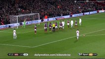 Philippe Coutinho Crazy Free-Kick Goal HD - West Ham 1-1 Liverpool  (FA Cup 09-02-2016