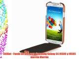 StilGut - Funda de piel para Samsung Galaxy S4 i9500 y i9505 marrón Marrón