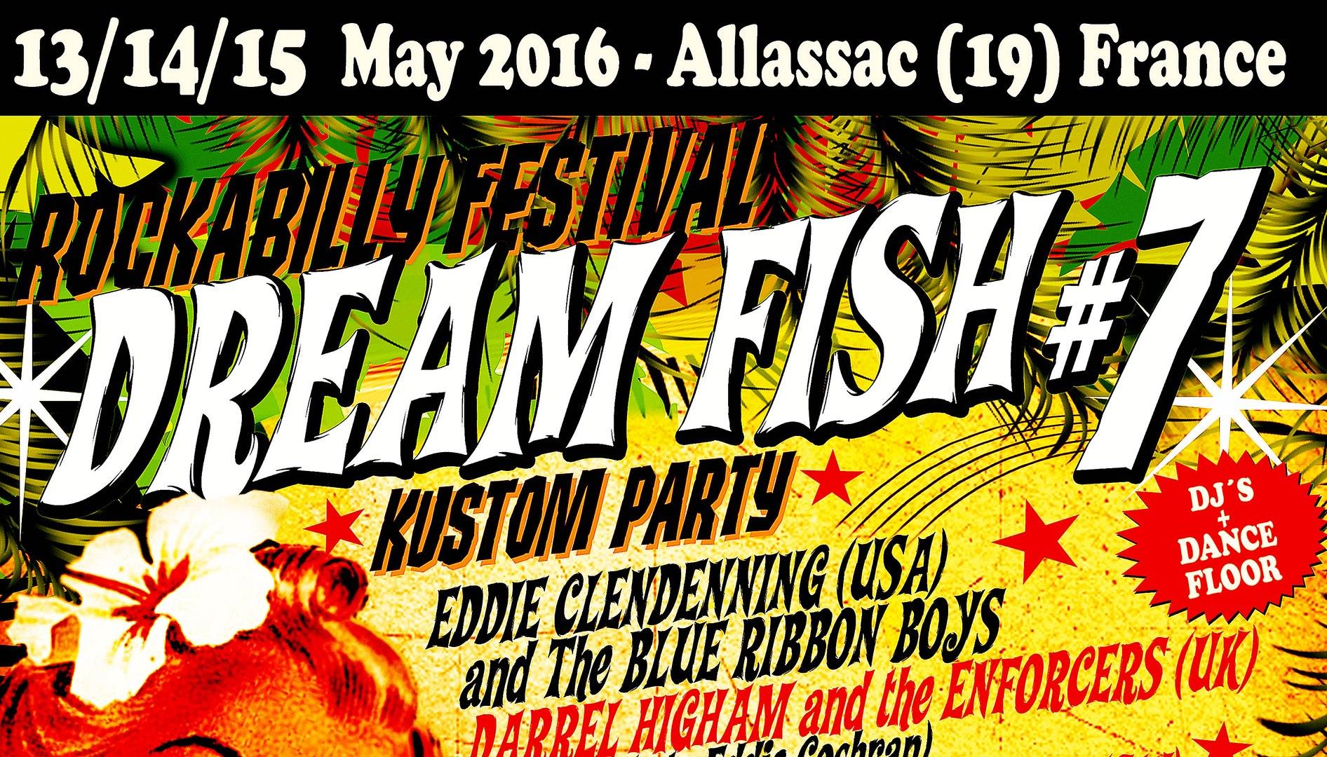 DREAM FISH KUSTOM PARTY n°7 TRAILER