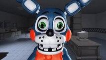 Five Nights at Freddys Animation: Toy Freddy vs. Toy Bonnie (Funny SFM FNAF)