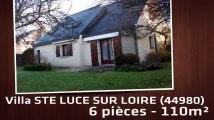 A vendre - Maison/villa - STE LUCE SUR LOIRE (44980) - 6 pièces - 110m²