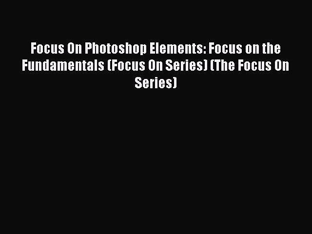 Focus On Series Focus On Apple Aperture Focus on the Fundamentals