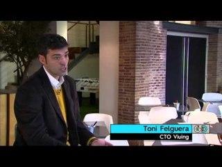 TV3 - Generació digital - Un televisor portàtil per veure els partits des del camp