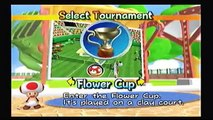 Lets Play Mario Power Tennis - Episode 3 - Just Peachy (Flower Cup Singles)