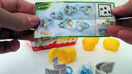 Nattons Collection Kinder Surprise Egg Unboxing - Kidstvsongs