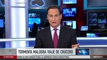 Dramáticos momentos en un crucero en alta mar | Noticiero | Noticias Telemundo