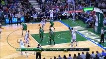 Boston Celtics vs Milwaukee Bucks  9 Feb16  Highlights