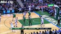 Boston Celtics vs Milwaukee Bucks - Highlights   February 9, 2016   NBA 2015-16 Season