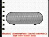 Sony SRS-X2 - Altavoces portátiles (20W NFC Bluetooth v 3.0 A2DP entrada auxiliar) blanco