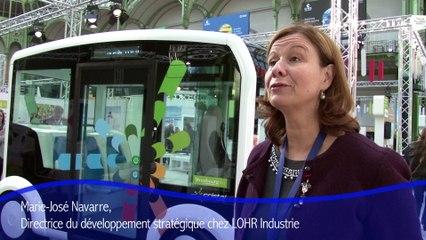 L'Eurométropole de Strasbourg et le projet Cristal au Grand Palais lors de Solutions COP21  Du 4 au 10 décembre 2015