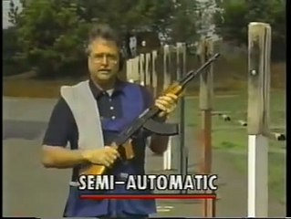 A sheriff is showing the differences between fully automatic, semi-automatic, hunting and assault rifles. Good video to watch regardless of your opinion.(2011)