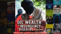 Download PDF  Oil Wealth and Insurgency in Nigeria FULL FREE