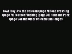PDF Download Fowl Play Ask the Chicken page 7 Roa